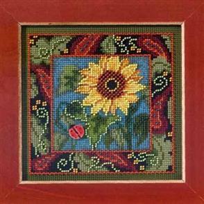 Mill Hill  Buttons & Beads Cross Stitch Kit: Sunflower
