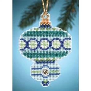 Mill Hill  Bead & Cross Stitch Kit: Blue Topaz