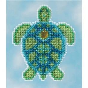 Mill Hill  Beaded Cross Stitch Kit - Sea Turtle