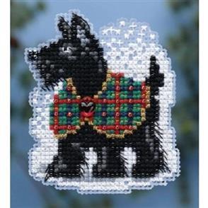 Mill Hill  Beaded Cross Stitch Kit - Scottie