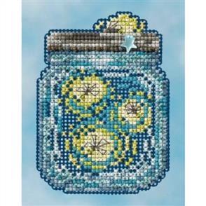Mill Hill  Bead & Cross Stitch Kit: Fireflies