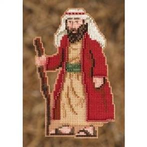 Mill Hill  Bead & Cross Stitch Kit: Joseph