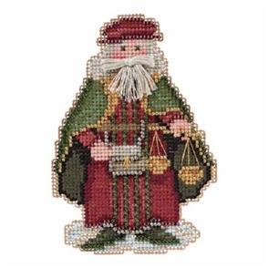 Mill Hill  Bead & Cross Stitch Kit: Venice Santa