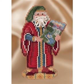 Mill Hill  Bead & Cross Stitch Kit: Florence Santa