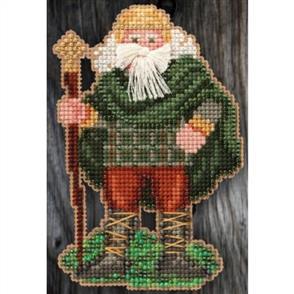 Mill Hill  Bead & Cross Stitch Kit: Ireland Santa