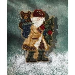 Mill Hill  Bead & Cross Stitch Kit: Allegheny Santa