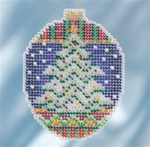Mill Hill  Beaded Cross Stitch Kit - Icy Evergreen