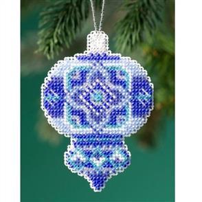 Mill Hill  Bead & Cross Stitch Kit: Azure Medallion