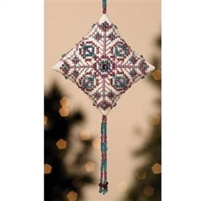 Mill Hill  Bead & Cross Stitch Kit: Royal Plum