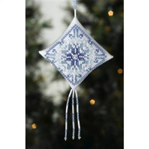 Mill Hill  Bead & Cross Stitch Kit: Snowflake