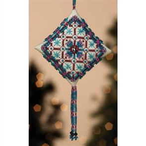 Mill Hill  Bead & Cross Stitch Kit: Royal Capri