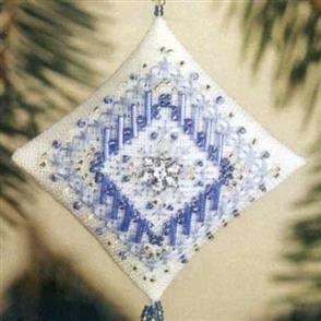 Mill Hill  Bead & Cross Stitch Kit: Icy Snowflake