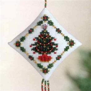 Mill Hill  Bead & Cross Stitch Kit: Holiday Trimmings
