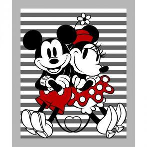 Springs Creative Mickey and Minnie Stripe Panel