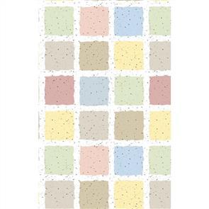 Maywood Studios Hanah Dale Wrendale Designs Fabric - Love Is - Soft Edge Squares Multi
