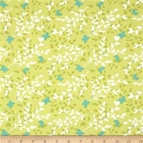Michael Miller  Fabrics - Bella Butterfly - 5432 Green