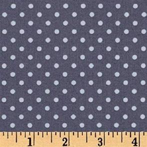Michael Miller  Fabric - Dinky Dots - 4540 Slate