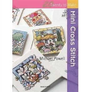 Search Press  20 to Stitch: Mini Cross Stitch