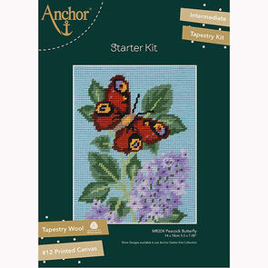 Anchor Starter Kits: Tapestry – Peacock Butterfly