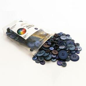 Trendy Trims  Bulk Buttons - Multisize Mix - Navy