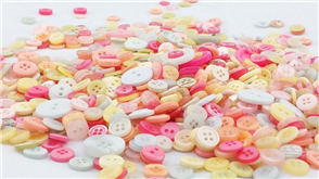 Trendy Trims Bulk Buttons - Pastel Mix