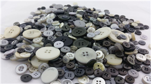 "Trendy Trims  Bulk Buttons - Multicoloured Mix ""Pebble"""