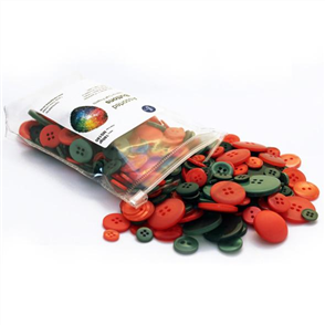 Trendy Trims Bulk Buttons - Watermelon