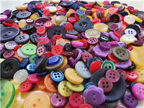 "Trendy Trims  Bulk Buttons - Multisize Mix - Assorted ""Kids"""