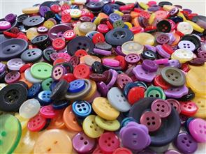 "Trendy Trims Bulk Buttons - Multisize Mix - Assorted ""Kids"""