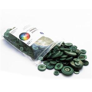 Trendy Trims Bulk Buttons - Christmas Green