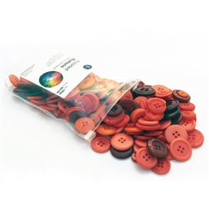 Trendy Trims Bulk Buttons - Assorted Red Buttons