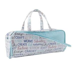 Trendy Trims  Knitting Bag Side Pocket Words