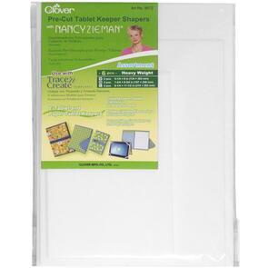 Clover  Pre-cut Tablet Keeper Shaper Assorted | Nancy Zieman