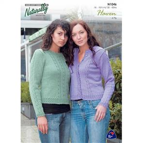 Naturally N1046 Fitting Sweater and Cardigan