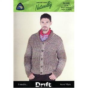 Naturally  N1160 Mans Shawl Collar Jacket