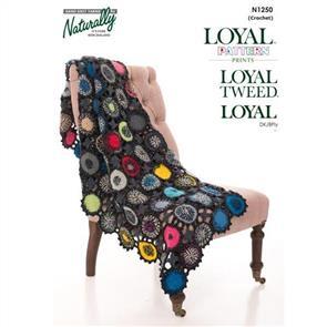 Naturally N1250 Crochet Throw
