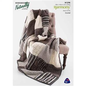 Naturally N1298 Crochet Blanket