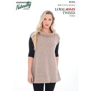 Naturally N1416 - Tunic - Knitting Pattern