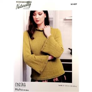 Naturally  Chaska - Bell Sleeve Sweater - N1489