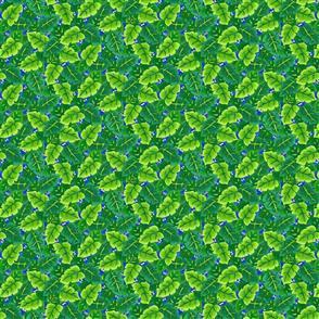 Northcott  Studio Fabric - Leaves Green