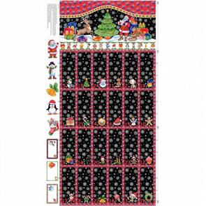 "Nutex  Christmas Advent Calendar - 24""/ 0.6m Panel"
