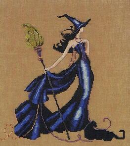 Mirabilia  Cross Stitch Chart + Bead Pack - Gigi