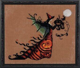 Mirabilia  Cross Stitch Chart + Bead Pack - Electra