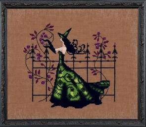 Mirabilia  Cross Stitch Chart + Bead Pack - Gwen