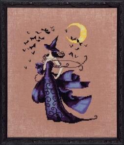 Mirabilia  Cross Stitch Chart + Bead Pack - Raven