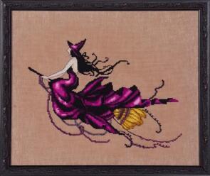 Mirabilia  Cross Stitch Chart + Bead Pack - Eva