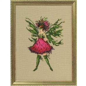 Mirabilia  Cross Stitch Pattern - with Bead Kit: Thistle