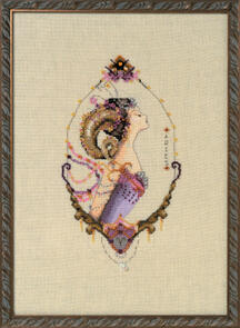 Mirabilia  Cross Stitch Chart + Bead Pack - Aries