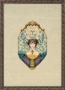 Mirabilia  Cross Stitch Chart + Bead Pack - Taurus
