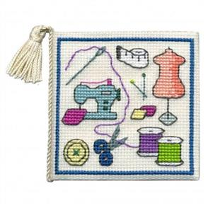 Textile Heritage  Cross Stitch Kit Needle Case - Sewing